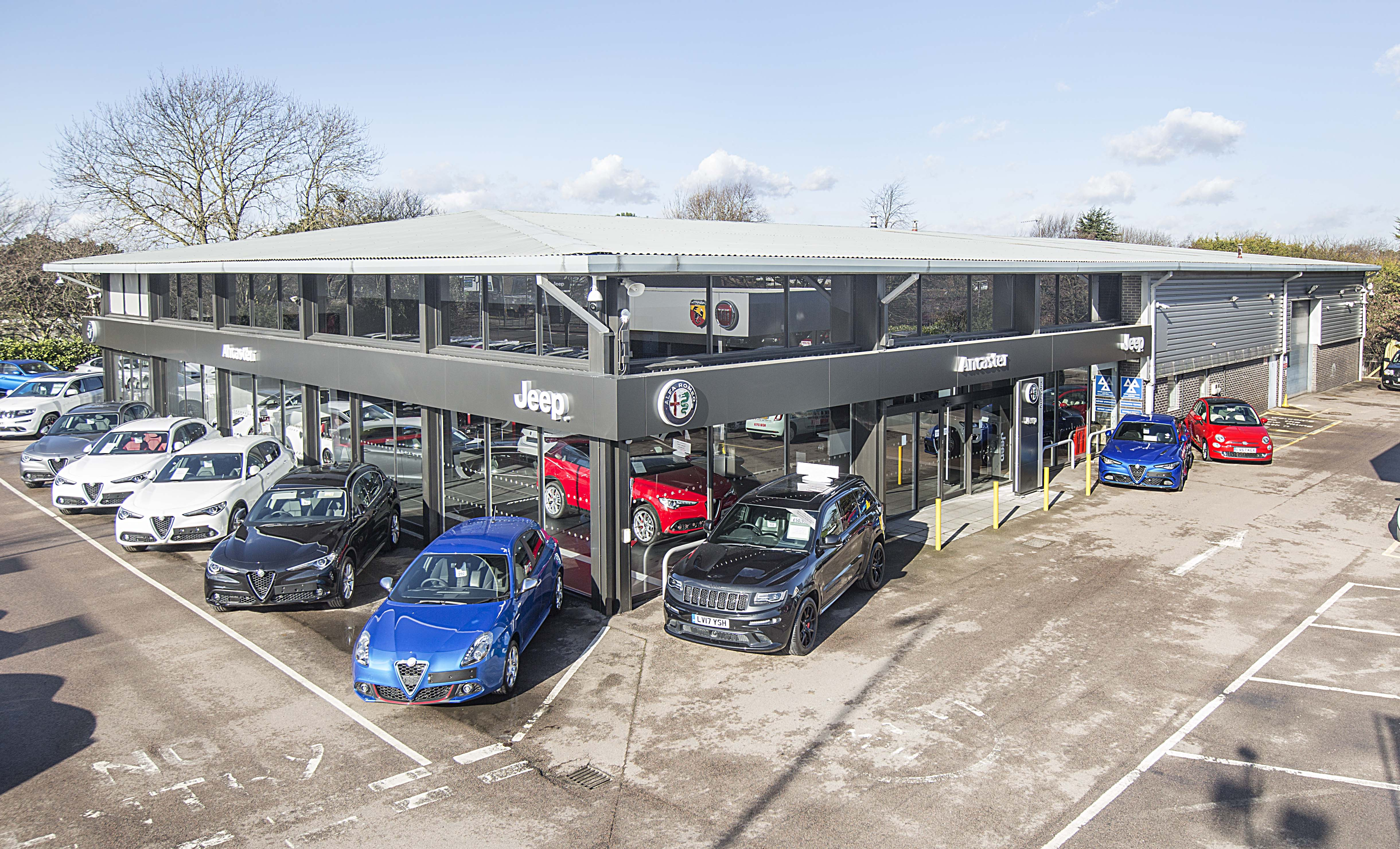 Johnston Chrysler Fiat >> DEALER GROUP ANCASTER MOVES TO NEW DARTFORD SITE - Press - Fiat Group Automobiles Press