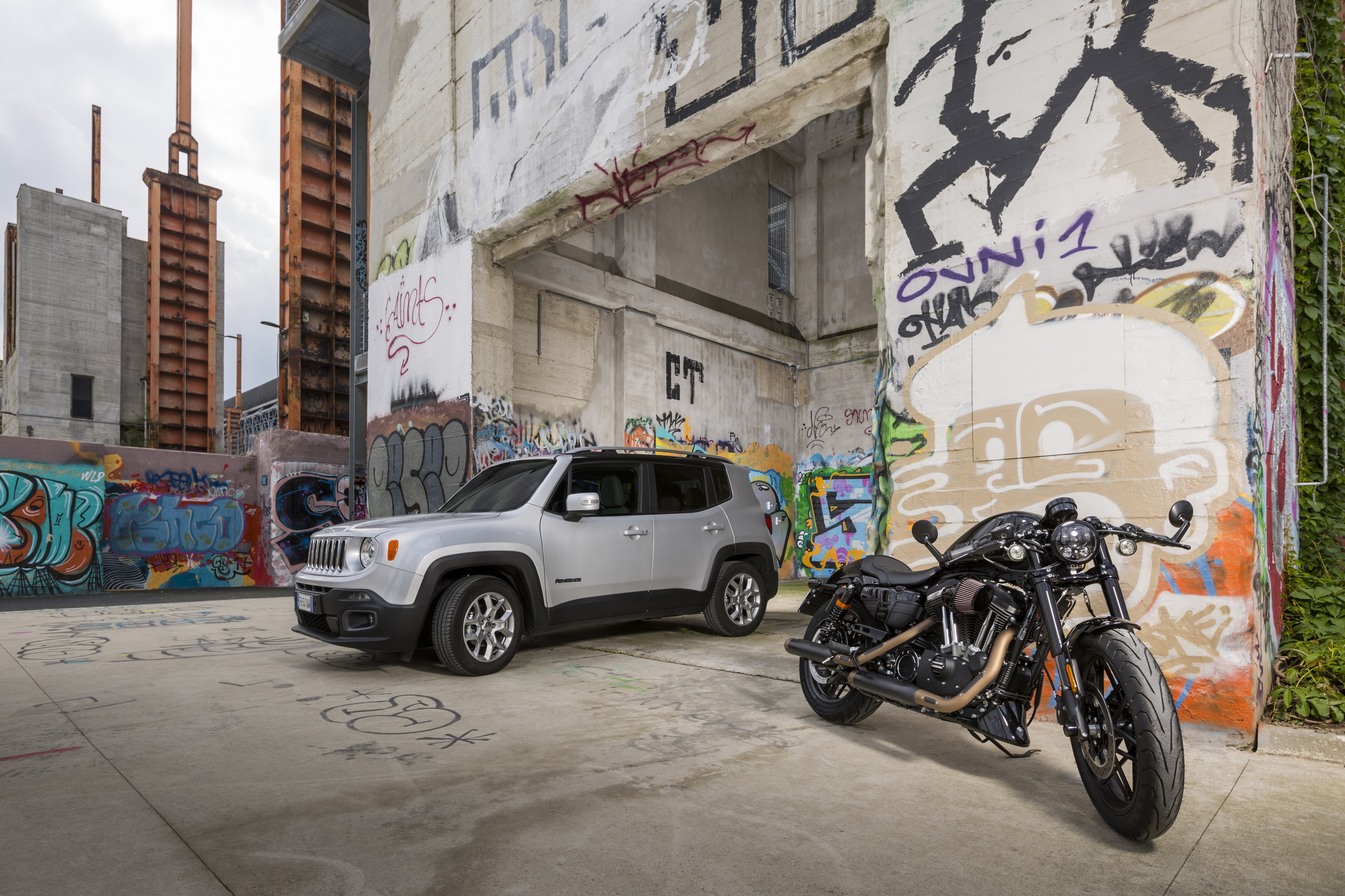 HARLEY DAVIDSON AND JEEP BRAND RENEW PARTNERSHIP ONCE AGAIN FOR
